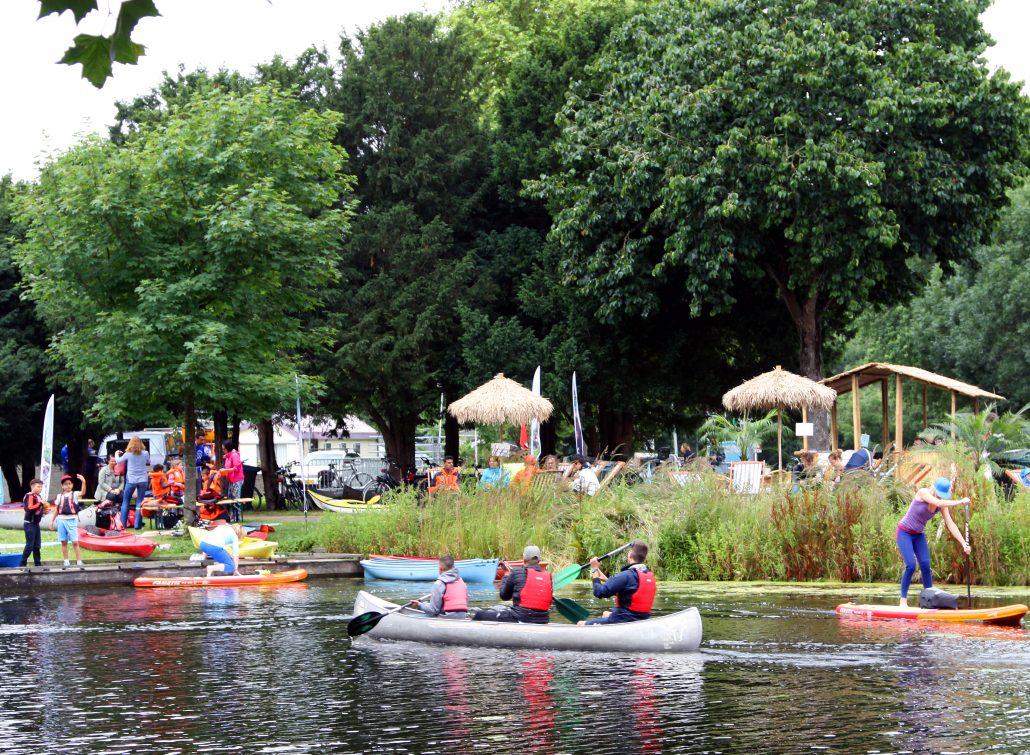 Waterfestival aan de Rotte