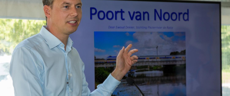 Ewoud Dekker presenteert Open Oproep Poort van Noord