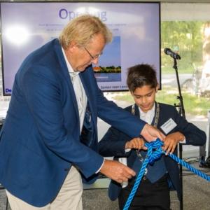 Opening Rotteconferentie Commissaris van de Koning in de Provincie Zuid-Holland en Kinderburgemeester van de Rotte